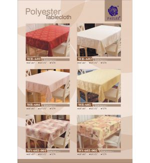 Polyester Tablecloth 2